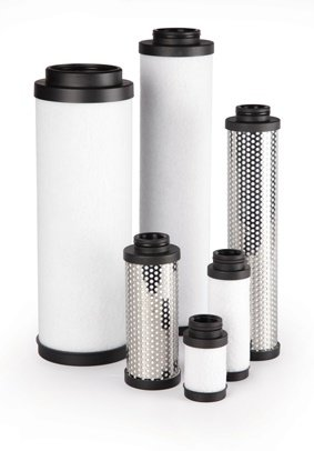 C455 Replacement Filter Element for Kaeser , 0.01 Micron Particulate / 0.003 PPM Oil Vapor - C455
