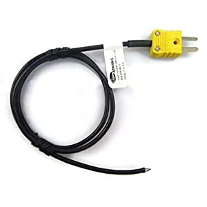 Well-Being-Matters 31uqm8zNRKL._SS300_ Cooper-Atkins 31905-K Air Probe Bare Tip Temperature Probe, -40 to 400 Degree F