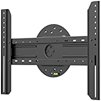 Monoprice Entegrade Series 360 Degree Fixed TV Wall Mount Bracket - For TVs 37in to 70in Max Weight 110lbs VESA Patterns Up to 600x400 Rotating