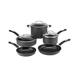 Conair Dss 8w 8pc Anodized Cookware Set Special Buy