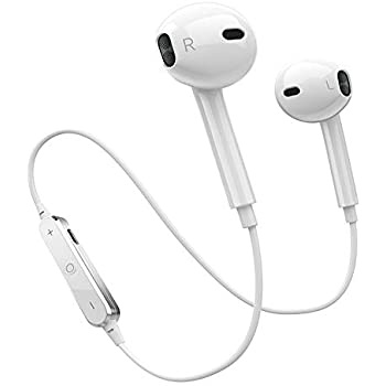 cb1c36aa788 Wireless Headphones, Hexdeer Bluetooth Earbuds Stereo In-Ear Earpieces with  2 Built-in Mic Earphone and Charging Case, Bluetooth Headsets Compatible  with ...