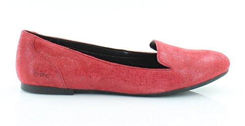 Born Ashlen Red Scarlet Flat Size 6.5