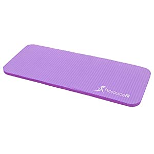 """ProsourceFit Yoga Knee Pad and Elbow Cushion 15mm (5/8"""") Fits Standard Mats for Pain Free Joints in Yoga, Pilates, Floor…"""