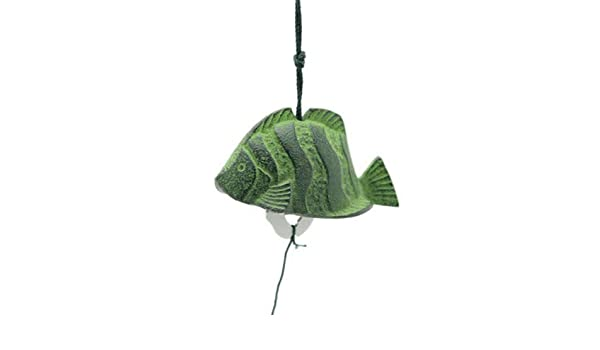 Japanese Tropical Fish FURIN Wind Chimes Cast Iron//Made in Japan