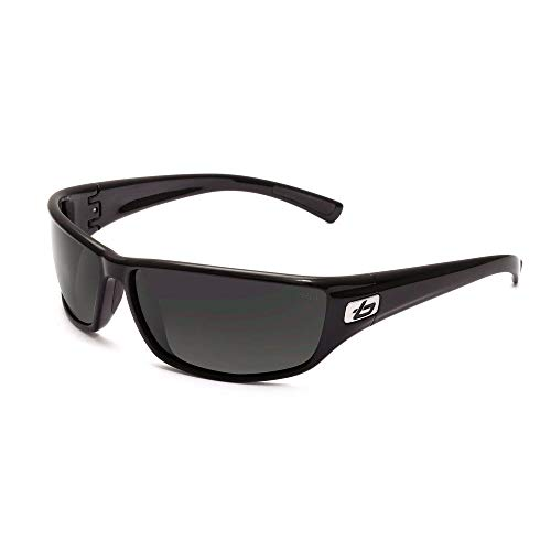 Bolle Edge - Bolle Python Sunglasses, Shiny Black, Polarized TNS oleo AF