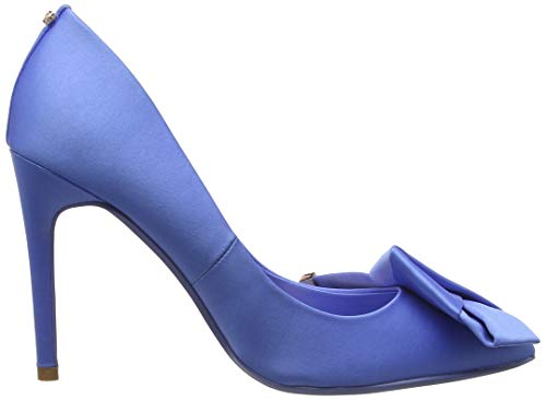 Scarpe Punta Chiusa blue Col Ble Donna Baker Ted Blu Tacco Ines q14xfEX