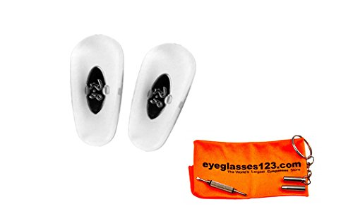 Ray-Ban Sunglasses Replacement RB3025 Clear Nose - Ray Nose Replacement Ban Pads