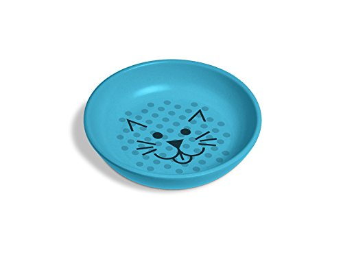 (Van Ness ECOWARE Cat Dish, 8 Ounce, Assorted Colors)
