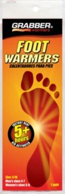 Grabber FWSMES3 Foot Warmer (3 Pair/Pack)