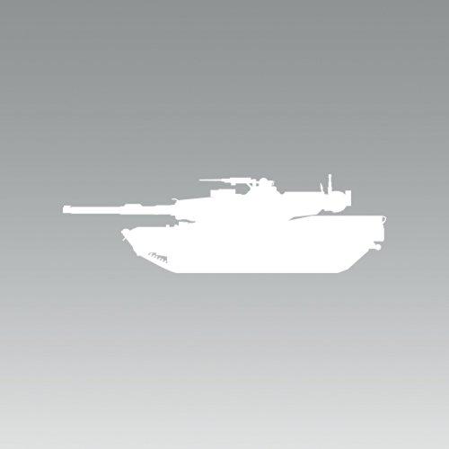 (2X) M1A1 Abrams - Sticker - Decal - Die Cut - Self Adhesive for cheap