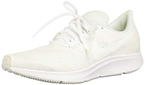 Nike Women's Air Zoom Pegasus 35 White/Summit White-Pure Platinum Size 7.5 (Best Nike Running Shoes Of All Time)