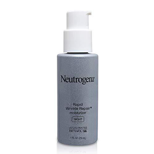 Neutrogena Rapid Wrinkle Repair Night Moisturizer - Nachtpflege, feuchtigkeitsspendend - Anti Agin, Anti Falten - aus USA
