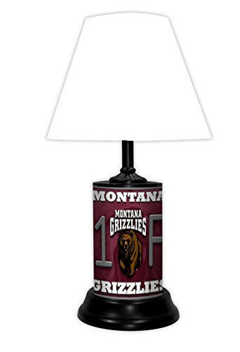 MONTANA GRIZZLIES NCAA LAMP - BY TAGZ SPORTS