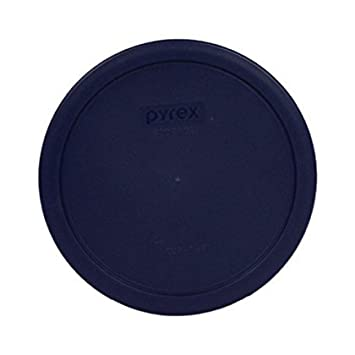 Set of 6 Pyrex Blue Round Storage Lid Cover fits 6 /& 7 cup Round Dishes # 7402-PC 6 7402-PC-6