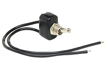 Cole Hersee (5582-10-BX) PVC Coated SPST On-Off Toggle Switch