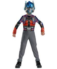 [Optimus Prime Kids Costume - 7-8] (Transformer Costumes That Transforms)