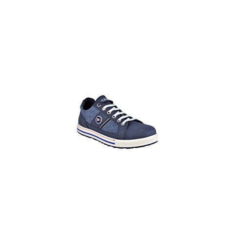 Cofra Sicherheitsschuhe Coach S3 Old Glories in Sneaker-Optik, Größe 44, blau, 35000-002