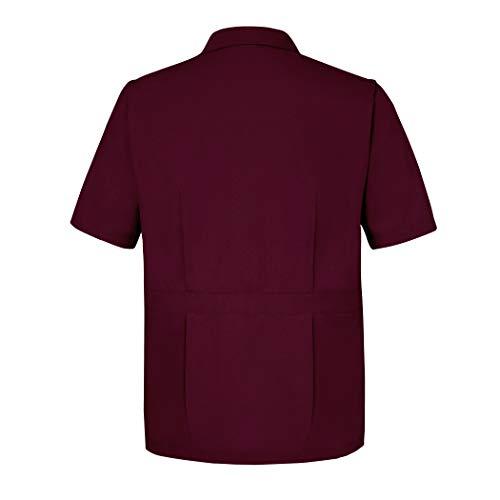 Sivvan Men's Jacket - Short Sleeves Front-Zippered