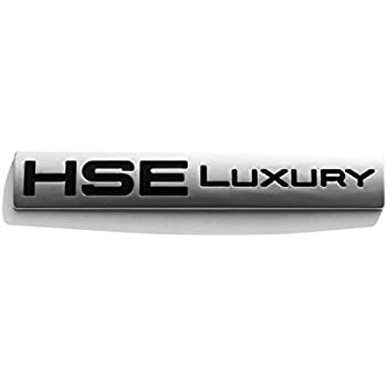 Chrome HSE LUXURY Emblem Car Badge Decal Sticker For Land Rover Discovery Sport
