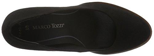 Marco Tozzi 22424, Zapatos de Tacón para Mujer Negro (BLACK 001)