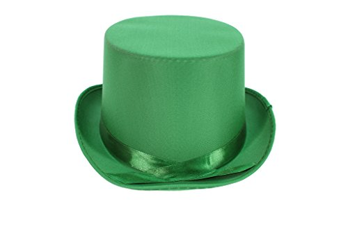 Dress Up Party Costume TOP Hat (Green Top Hats)