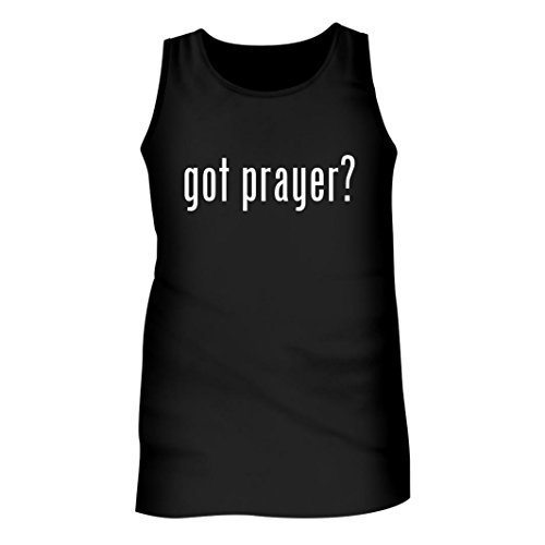 Tracy Gifts Got Prayer? - Men's Adult Tank Top, Black, Large