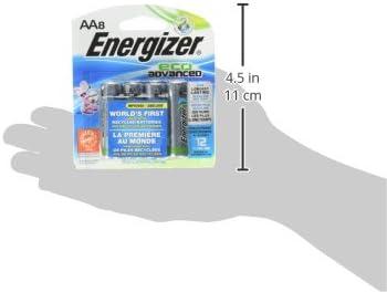 Energizer EcoAdvanced AA-8 EMOD Batteries