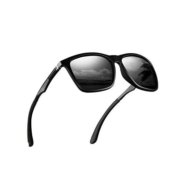 Polarized Sunglasses for Men Aluminum Mens Sunglasses Driving Rectangular Sun Glasses For Men/Women