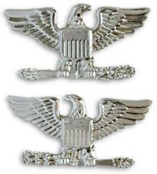 Navy Captain Collar Device Rank Insignia Pair