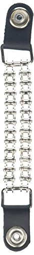 Hot Leathers Bike Chain Vest Extender (Silver, 4