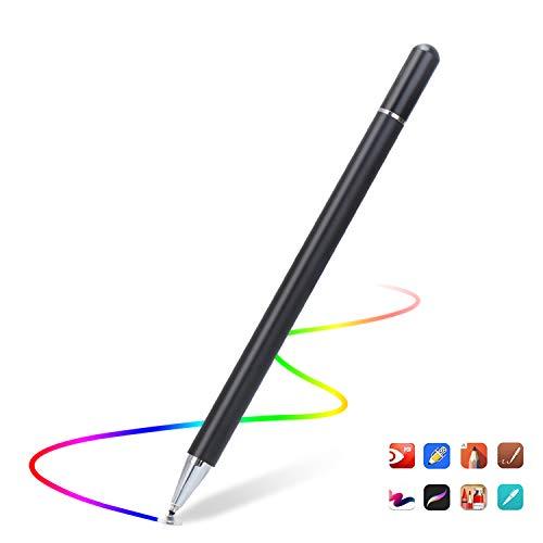 Lapiz Stylus Pen Capacitivo Para Pantallas Tactiles. Negro