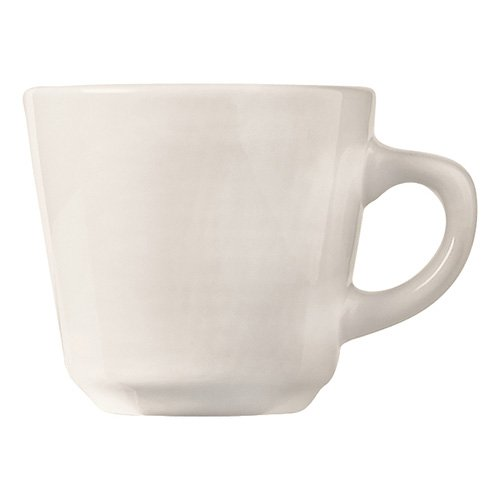 (World Tableware Rolled Edge Porcelana Tall Cup, 7 Ounce - 36 per case)