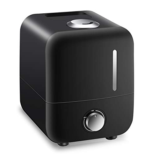 Urqueen 3.5 litres Humidifiers Cool Mist Humidifier Ultrasonic Waterless Auto Off with Filter, Sleep Mode for Bedroom, Baby Room, Office