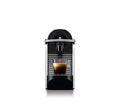 De'Longhi EN 124.S Nespresso Pixie EN124.S Macchina per caffè Espresso, 1260 W, Plastica, Argento, 0.7 Litri, Metallo 3