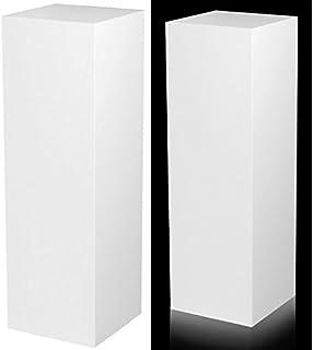 rentquest frosted display pedestal pedestals decals acrylic