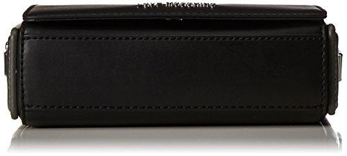 Nueva Marca Barata Unisex Love Moschino Borsa TRACOLLINA Mini Nero Argento JC4254PP04KG1 El Envío Del Descenso Explorar En Línea 9xGR3