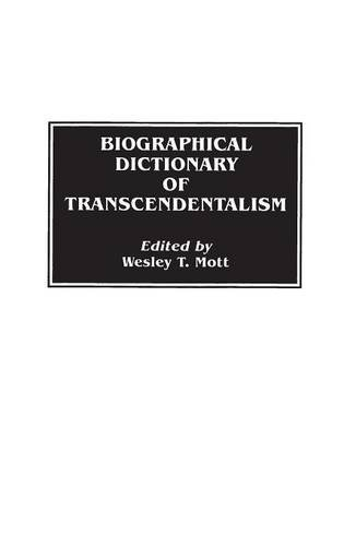 Biographical Dictionary of Transcendentalism: