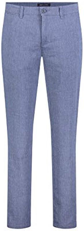 MAC JEANS New Lennox spodnie męskie w odcieniach beżowych: Odzież