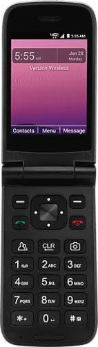 Orbic Journey V Verizon Prepaid 4g LTE Flip Phone - Black