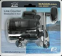 OKUMA Magda 2BB 5.1:1 Clam Troll Reel, 210/20 For Sale