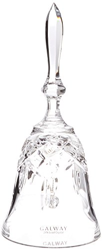 Cut Crystal Bell - Galway Crystal Longford Makeup Bell