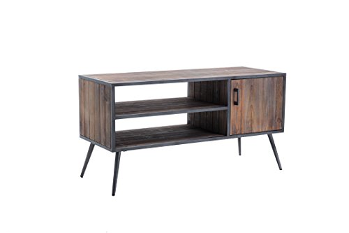 Belmont Home Media Console, Antique Gray 31urJEr7ypL