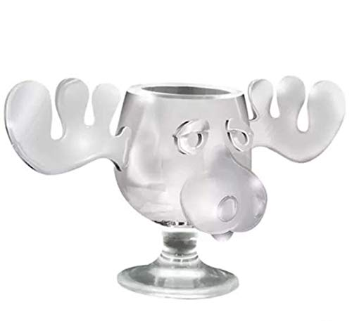 oz each National Lampoons Christmas Vacation Acrylic Moose Mug 2-Pack 4.5 fl