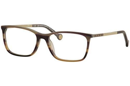 Eyeglasses CH by Carolina Herrera VHE 722 K Brown Horn ()