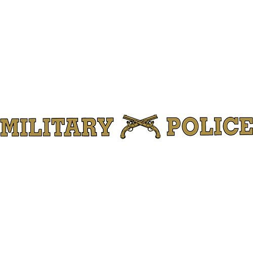 Military Police Clear Window Strip (Decal Sticker Strip Window)