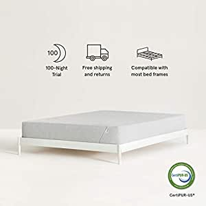 Nod Hybrid by Tuft & Needle Twin Mattress, Amazon-Exclusive Soft Memory  Foam and Firm Innerspring Bed in a Box with Support and Cooling Gel,  100-Night