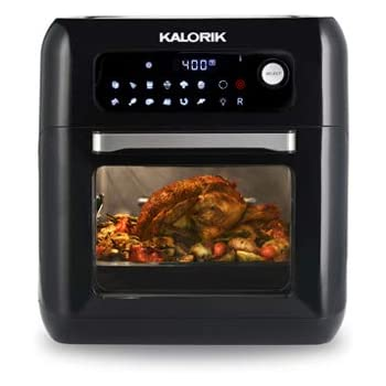 Amazon Com Kalorik Air Fryer Oven 10 Quart Capacity 13 Settings Kitchen Amp Dining