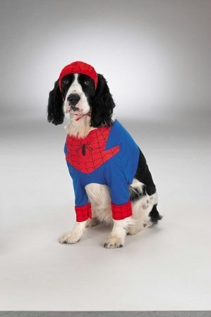 Costumes For All Occasions Dg5800S Spiderman Dog Small