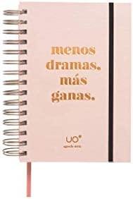 UO Less Dramas - Agenda anual 2019 Día Página