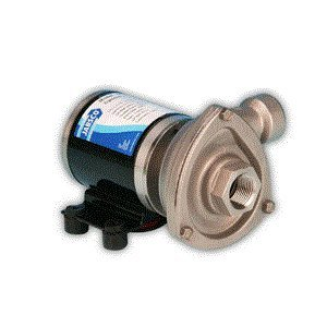 Jabsco - 50840-0012 - Stainless Steel 5/32 HP Centrifugal Pump, Phase, 12VDC Voltage